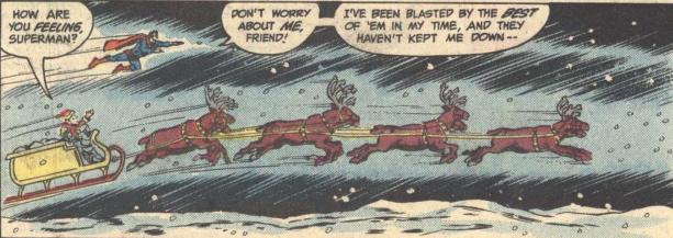 superman and santa