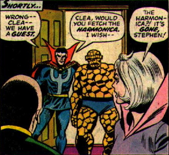 magic harmonica doctor strange clea