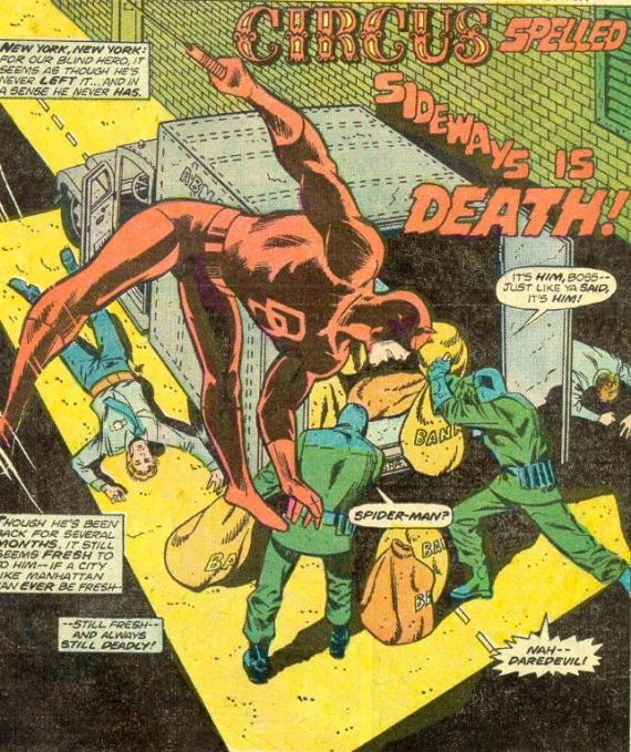 daredevil is a poor man's spider-man
