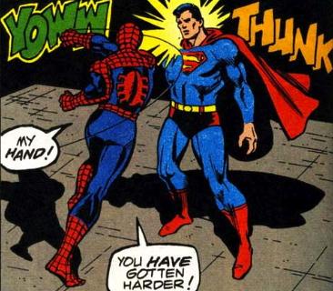 spider-man versus superman
