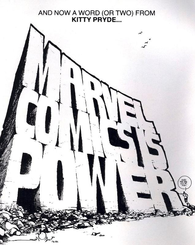 marvel comics is power