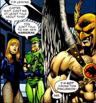 hawkman green arrow canary