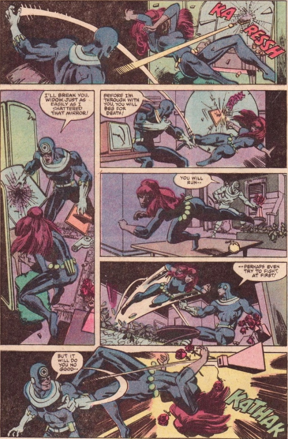 DAREDEVIL #160 bullseye versus black widow