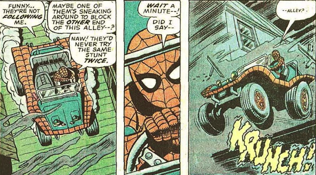 first appearance spider-mobile