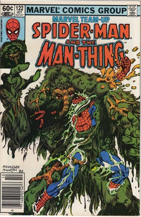 marvel team up 122 spider-man and man thing