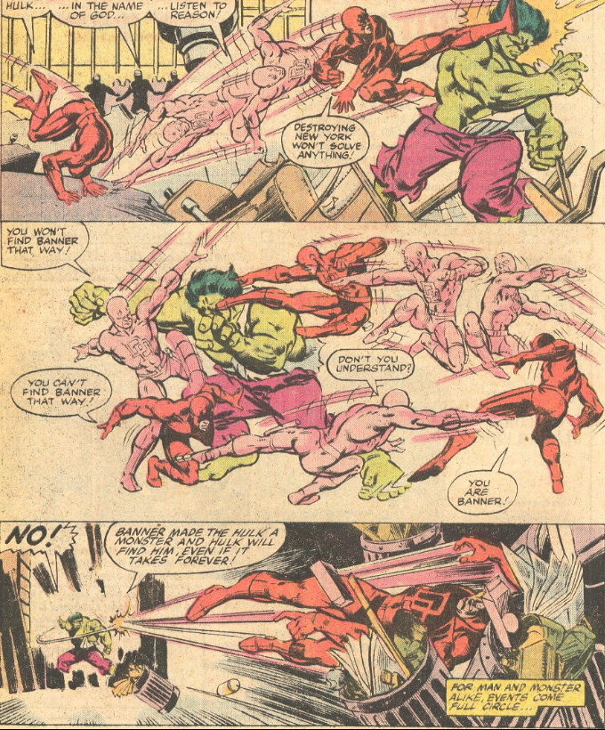 daredevil fights hulk