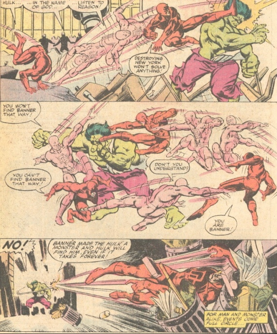 daredevil fights hulk